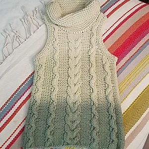 Free People cowl neck ombre sweater!!